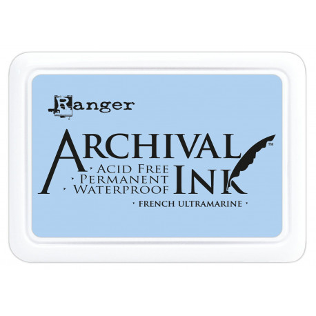Archival Ink FRENCH ULTRAMARINE