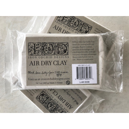 Iron Orchid Designs Air Dry Clay - 400 gr